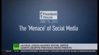 Soros: Facebook & Google manipulate users like gambling companies