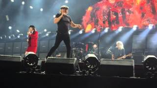 AC/DC Intro and Rock or Bust Live Melbourne 6/12/2015 Awesome
