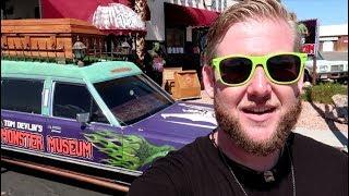#1131 Incredible Tom Devlin's MONSTER MUSEUM - Las Vegas NV - Jordan The Lion Travel Vlog (9/11/19)