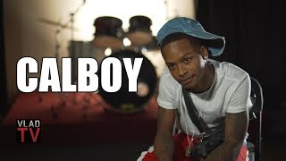 Calboy on Meek Mill Reaching Out, Signing to Dreamchasers Management (Part 5)