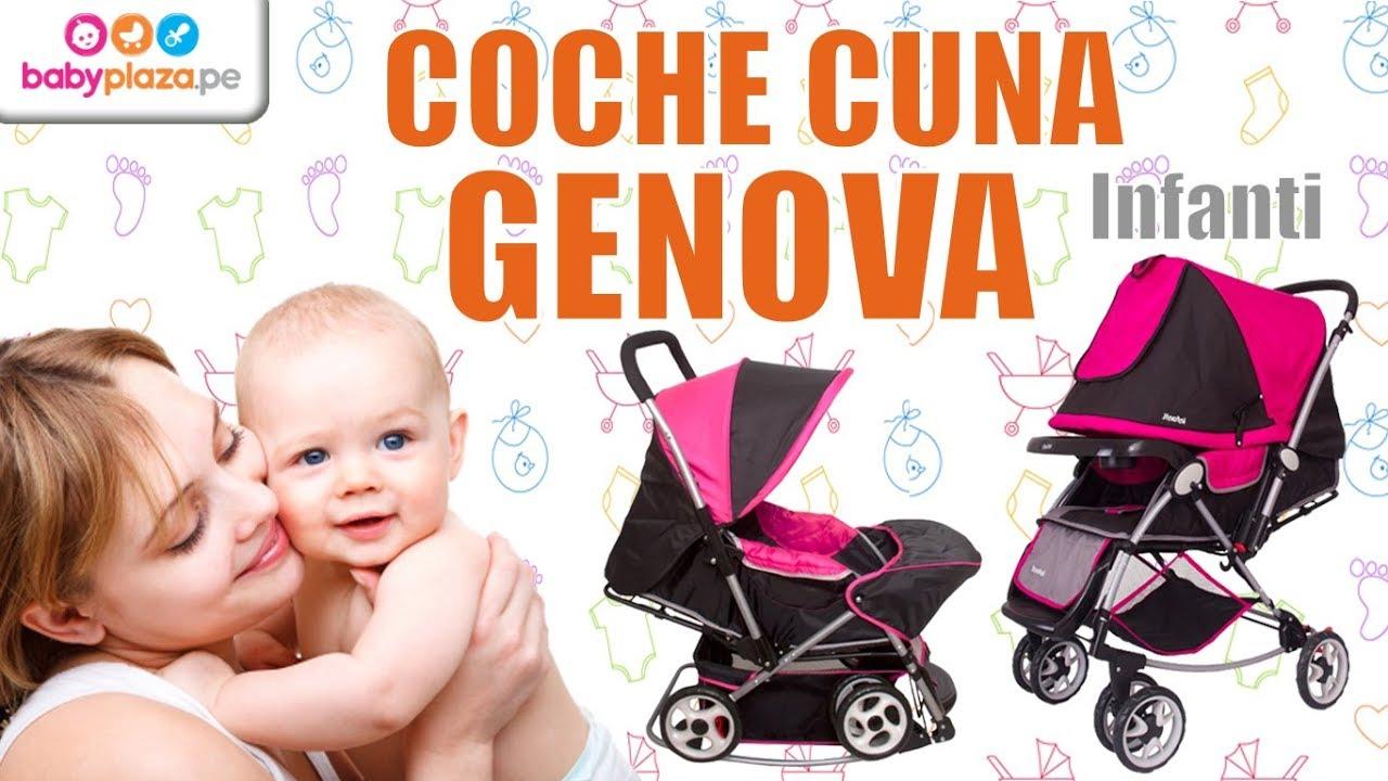 7a4deff3a Coche Cuna Genova- Infanti   BabyPlaza - YouTube