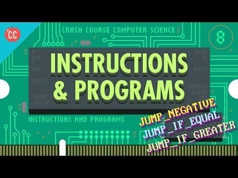 Instructions & Programs: Crash Course Computer Science #8