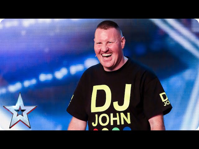 You'll NEVER guess what DJ John's act is? | Britain's Got Talent 2015 #1