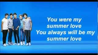 One Direction - Summer love (Lyrics and Pictures)