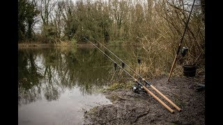 Nick Helleur Carp Fishing with the new Riot Rods