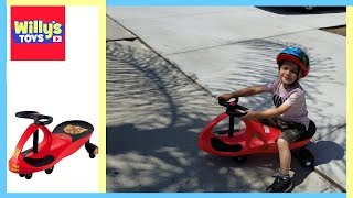 Fire Truck Ride on Toy Wiggle Car by Rockin