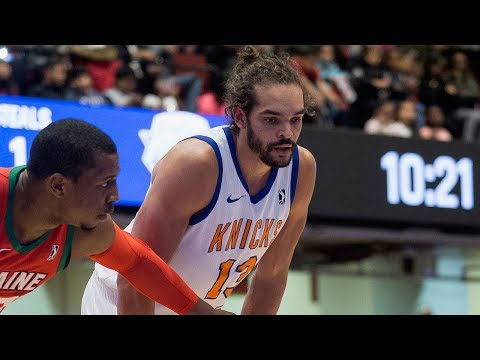Joakim Noah Scores First Baskets on Assignment with Westchester Knicks