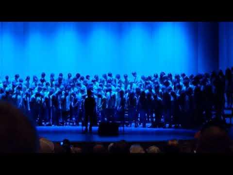 Alma Middle School Choir Concert | May 16th, 2019 | P!nk - A Million Dreams