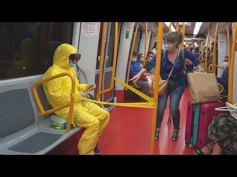 RESPETA LA DISTANCIA DE SEGURIDAD !! | Metro de Madrid