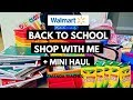 Walmart Back to School Haul and Walkthrough Teacher School Supplies Shop With Me
