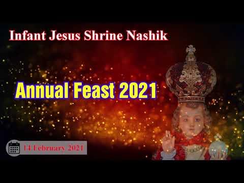 || मराठी सणाची मिस्सा || 14 Feb 2021 || Infant Jesus Shrine Nashik ||  Marathi Mass || 9am ||