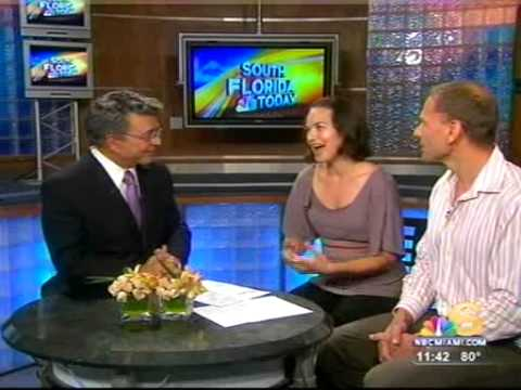 Soprano Kelly Kaduce on NBC-6 Miami South Florida Today