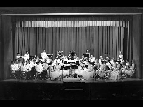 """Howard&Werle""""Pacific National Exhibition""""The Alfred I.duPont High School Band,William F.Swor,Dir."""
