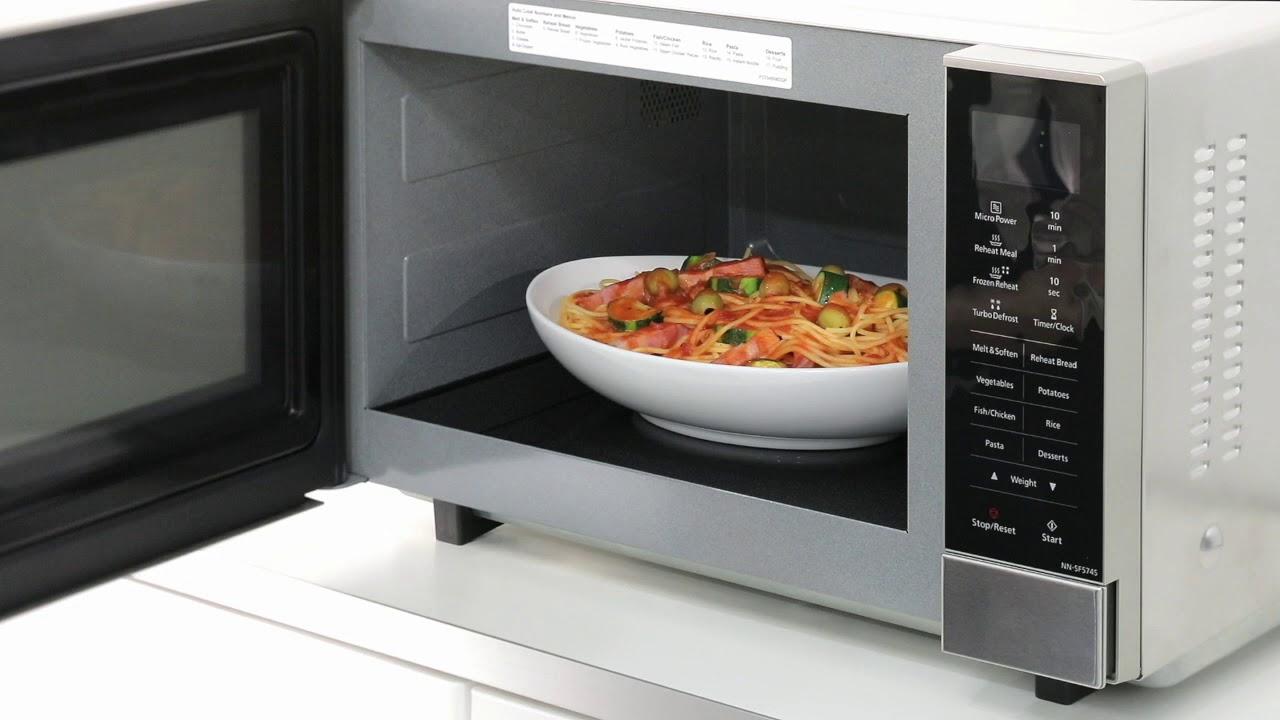 panasonic nn sf574s microwave oven