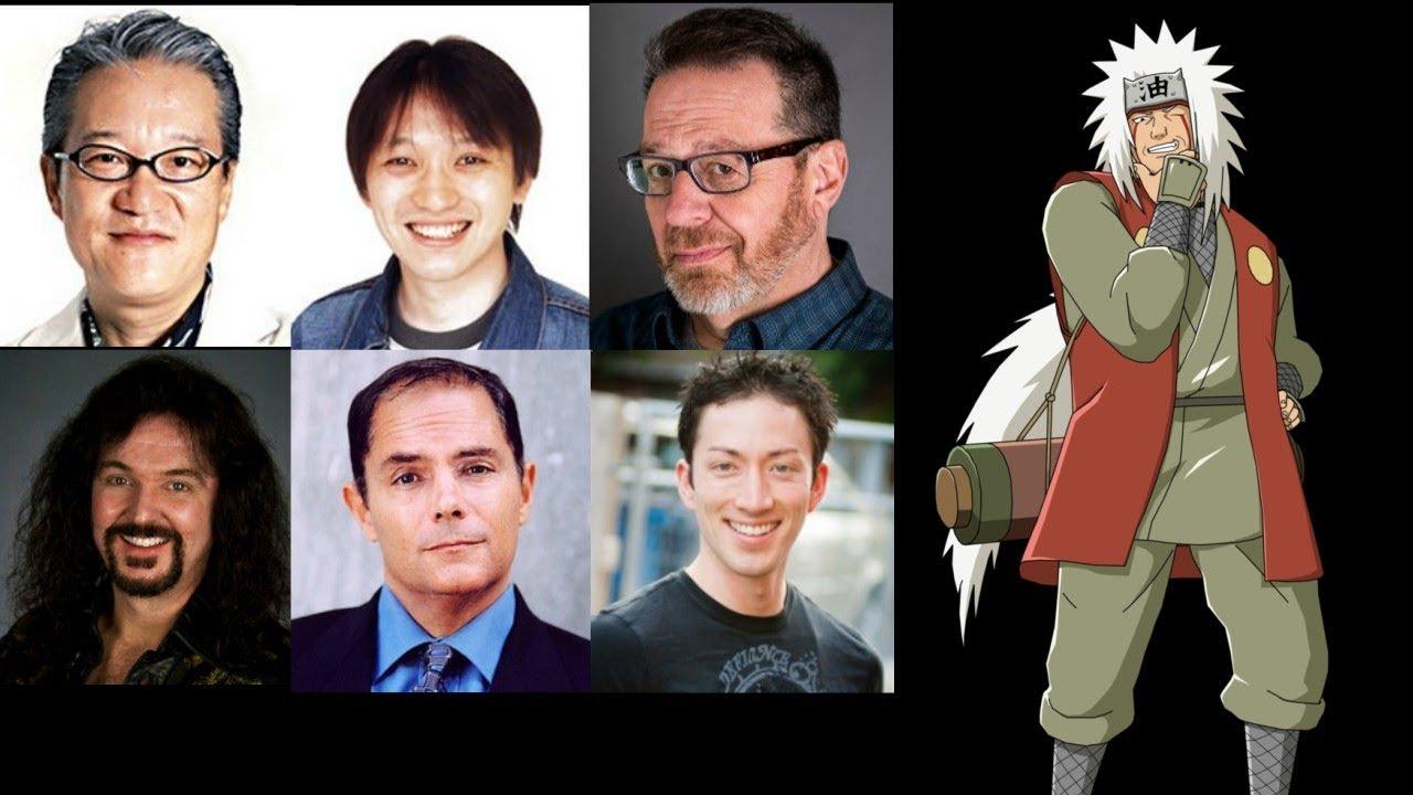 Anime Voice Comparison Jiraiya Naruto Youtube
