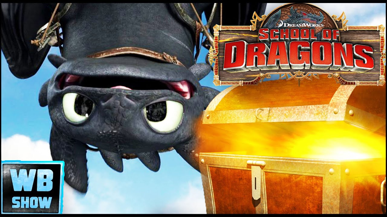How To Train Your Dragon  School Of Dragons Gameplay Part 1  Egg Chest  Opening!