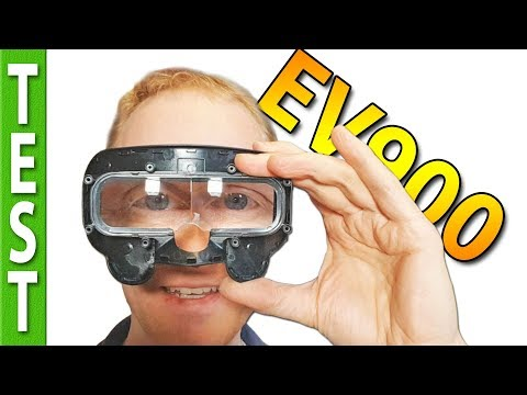 Eachine EV900 Goggles Review, LATENCY tested, teardown / nosemod