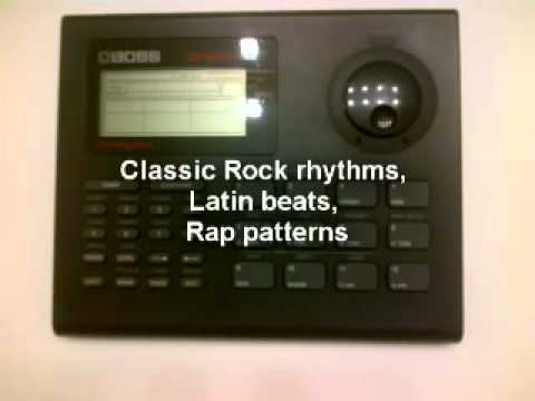 Boss DR-550 MK II  Dr. Rhythm Drum Machine Demo & Manual