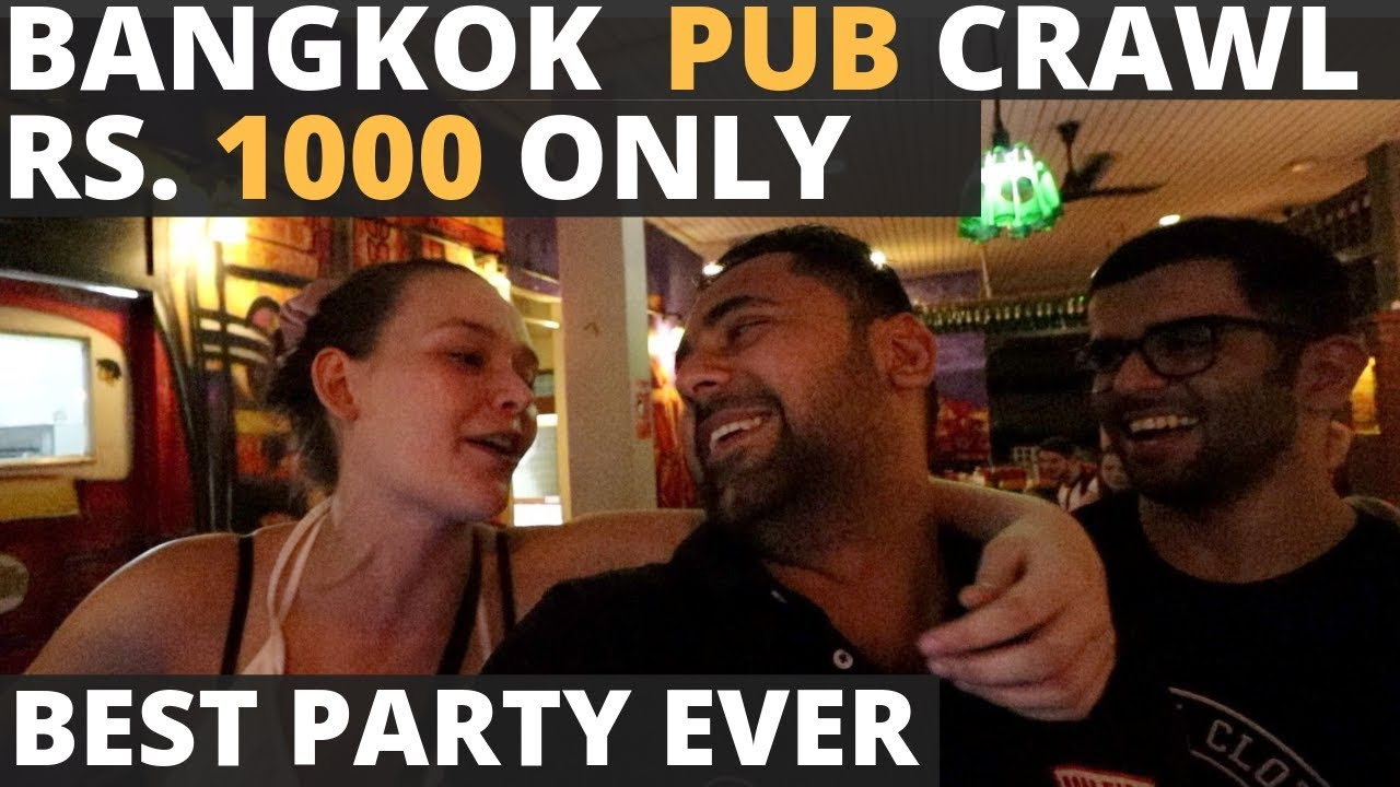 The Best Bangkok Party In Rs. 1000 Only . The Mad Monkey Bangkok Pub Crawl - All you need to know!
