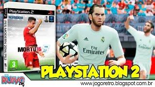 Pro Evolution Soccer 2016 (PES Mortu 2016) no Playstation 2