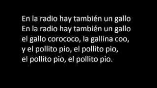 El Pollito Pio | Letra en Español
