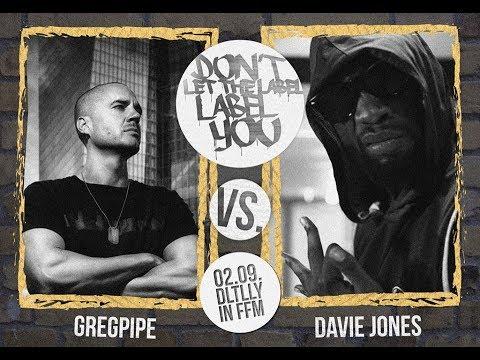 DLTLLY // Rap Battles // Gregpipe vs. Davie Jones