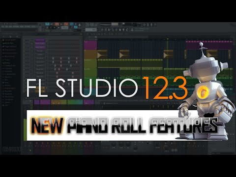 FL Studio 12.3 - Piano Roll Features