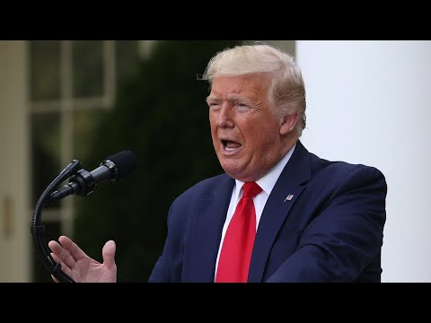 WATCH: President Trump holds news conference in the White House Rose Garden