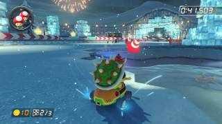 GCN Sherbet Land - 1:43.717 - S¢★Roberto (Mario Kart 8 World Record)