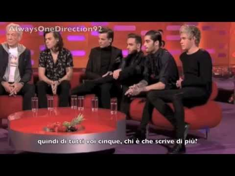 One Direction & Ian McKellen on