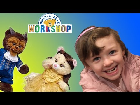 NEW Disney Beauty and the Beast Movie Belle + Beast Build a Bear   The Disney Toy Collector