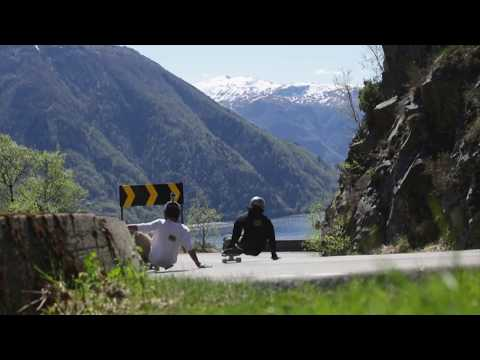 Urge Presents - Downhill skateboarding in Norway - Osterøy