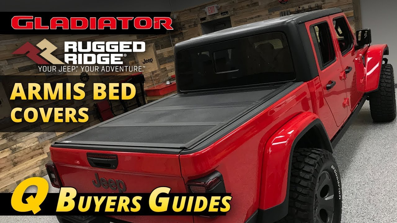 rugged ridge armis bed cover buyer s guide for jeep gladiator