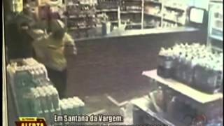 Distribuidora de bebidas é assaltada em Santana da Vargem