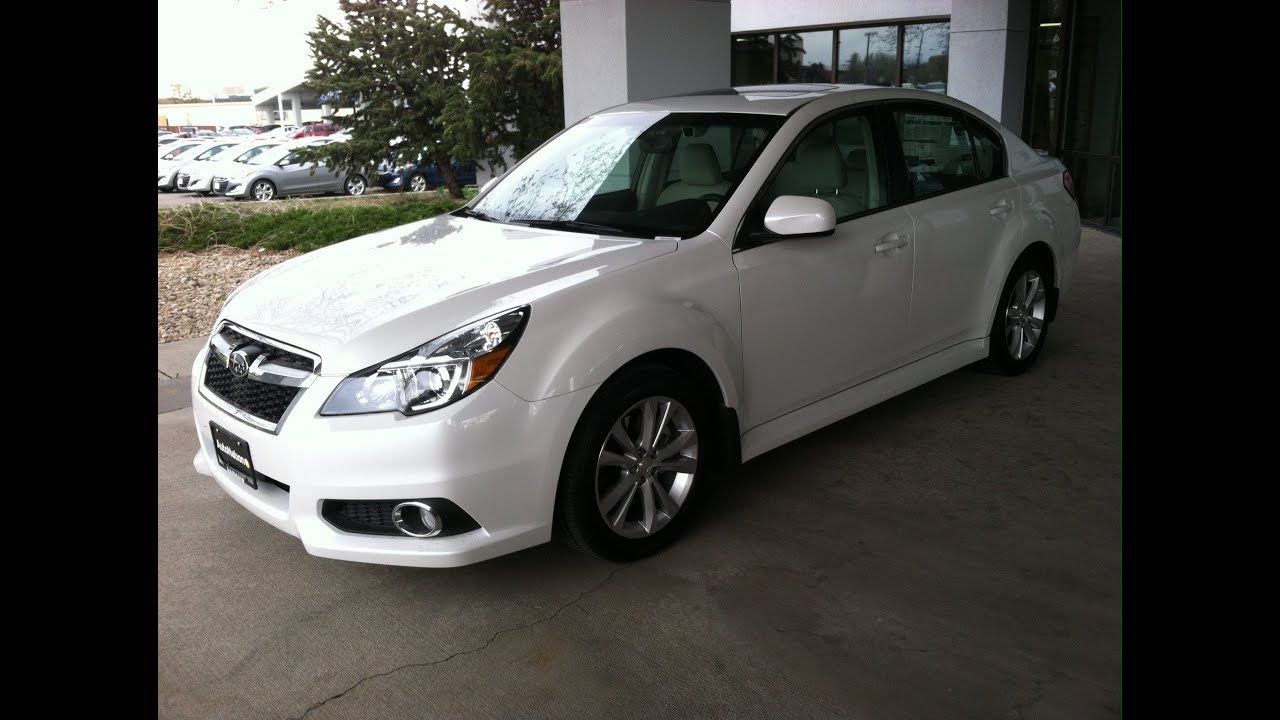 2014 Subaru Legacy 3.6R Limited (Start Up, In Depth Tour, and Review ...