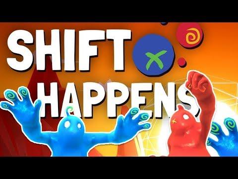 Shift Happens #001 - Schleimiges Chaoten-Duo! [Together, Blind, Deutsch/German Lets Play]