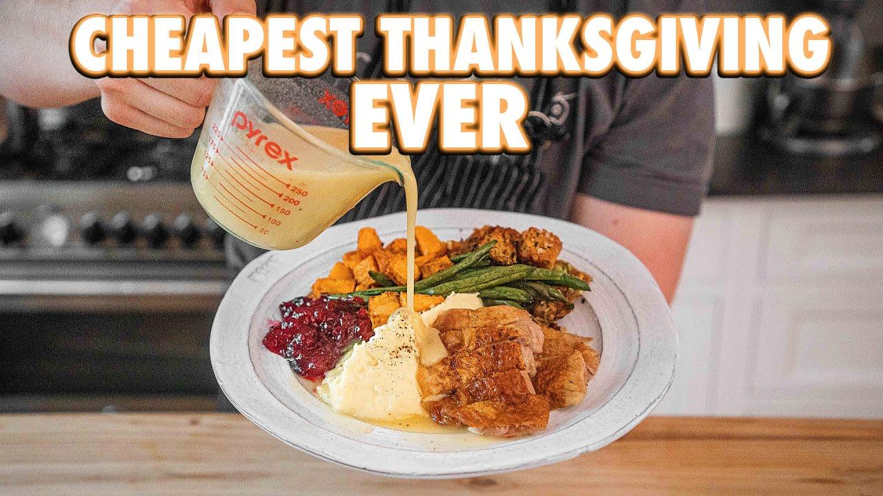 Thanksgiving Dinner (But Cheaper)