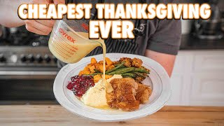 A Whole Thanksgiving Dinner for 35 Dollars | But Cheaper