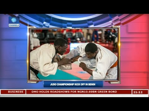 JUDO Championship Kick Off In Benin | Sports Tonight |