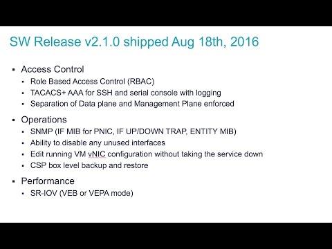CSP 2100 v2.1.0 demo
