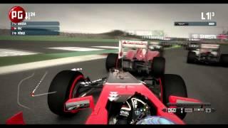 f1 2012. Видеообзор