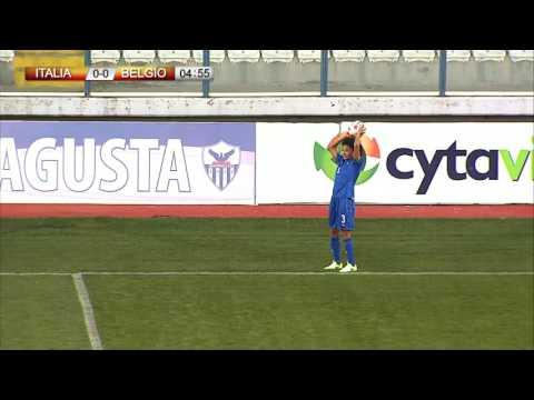 Cyprus Cup 2017: ITALIA-BELGIO 1-4