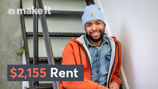 Living In A $2,155/Month Loft In Brooklyn, NY | Unlocked