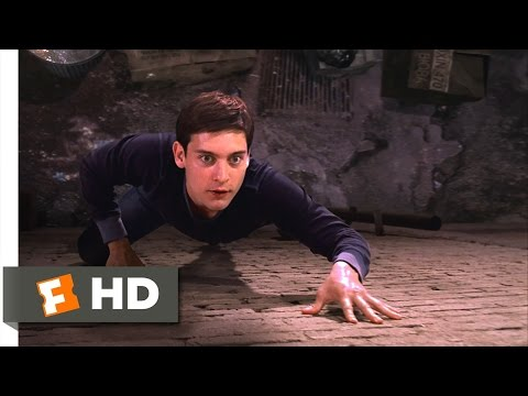 Spider-Man Movie (2002) - Peter's New Powers Scene (2/10)   Movieclips