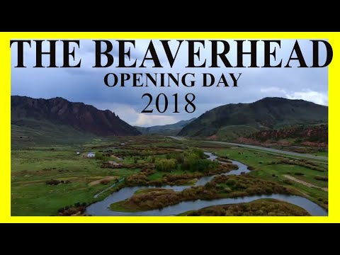 Fly Fishing THE BEAVERHEAD River In Montana - Opening Day - 2018