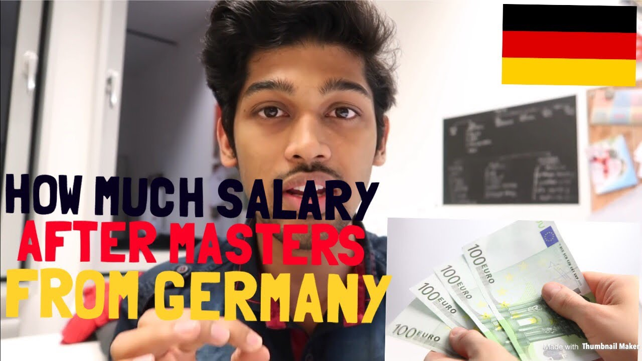 HOW MUCH YOU WILL EARN AFTER YOUR MASTERS FROM BERLIN, GERMANY Cal. the  cost of living in REALTIME