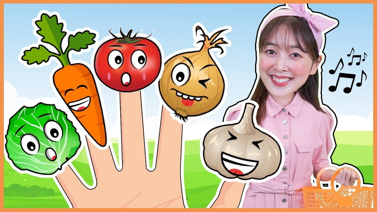 다니 야채 핑거송 Five Finger Family vegetable song-Nursery Rhymes & Kids Songs 키즈송 인기동요 [DANI]
