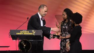 Ernie Johnson Gives His Sports Emmy Award To Stuart Scott