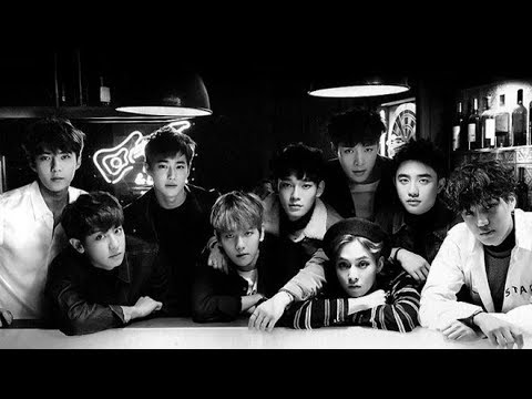 EXO Greatest  ALL Hits  Best Songs + best Solos 2017