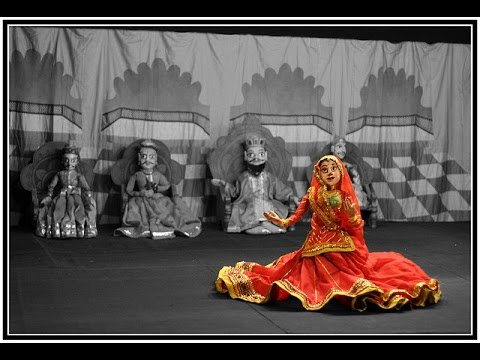 KATHPUTLI DANCE ON DJ PAR GHOOMAR GHALO YEH RAJASTHAN   PUPPETRY DANCE SHOW